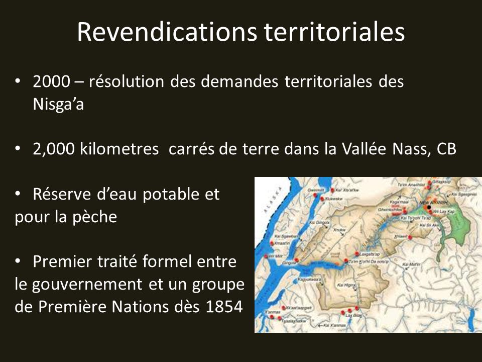 Revendications territoriales