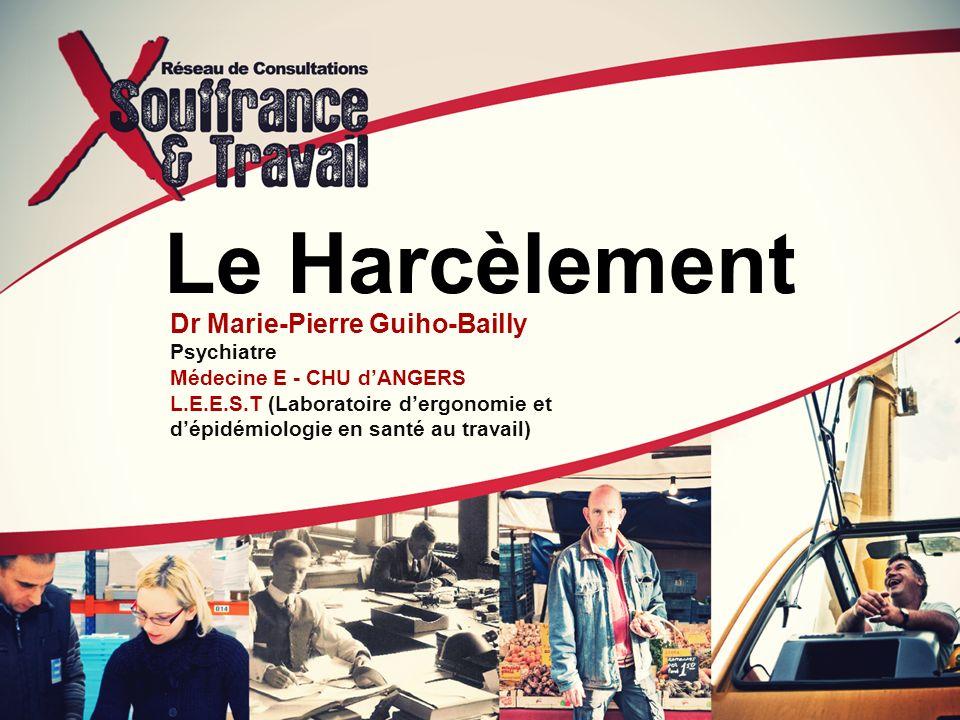 Le Harcèlement Dr Marie-Pierre Guiho-Bailly Psychiatre