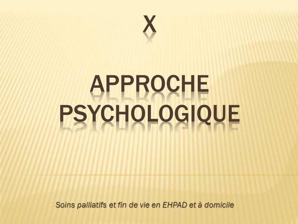 X Approche psychologique