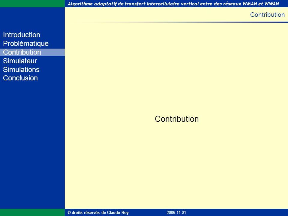 Contribution Contribution © droits réservés de Claude Roy 2006.11.01
