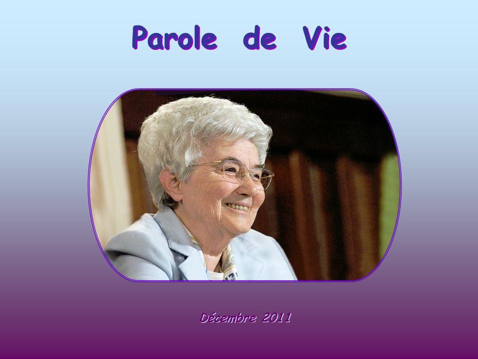 Parole de Vie Décembre 2011