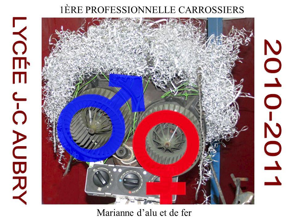 LYCÉE J-C AUBRY 2010-2011 1ÈRE PROFESSIONNELLE CARROSSIERS