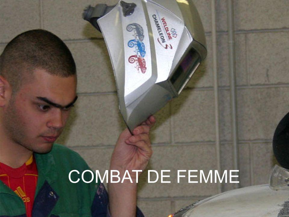 COMBAT DE FEMME 8