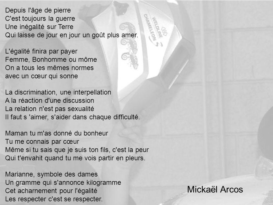 Mickaël Arcos Depuis l âge de pierre C est toujours la guerre