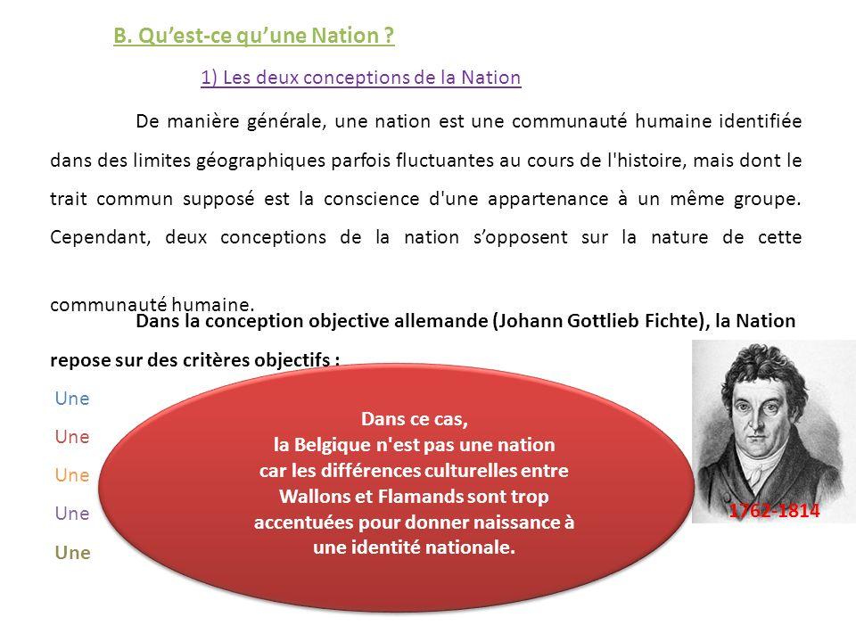 la Belgique n est pas une nation