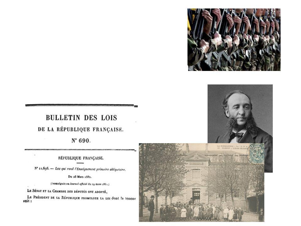 l instauration du service militaire en 1798,