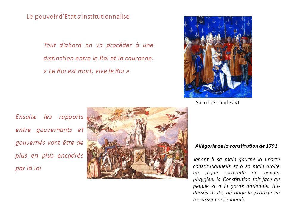 Allégorie de la constitution de 1791