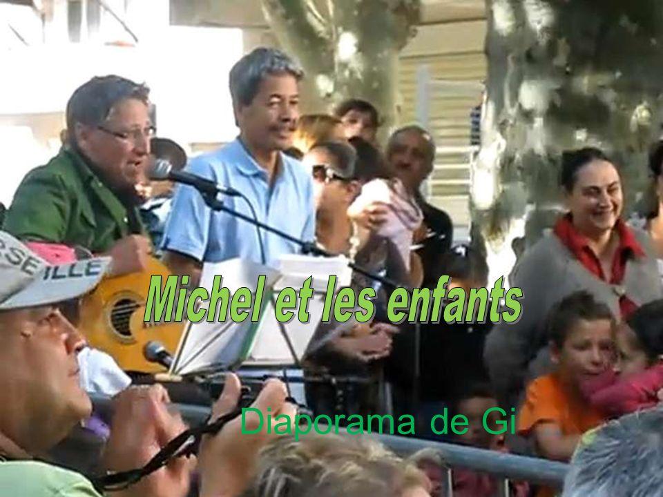 Michel et les enfants Diaporama de Gi