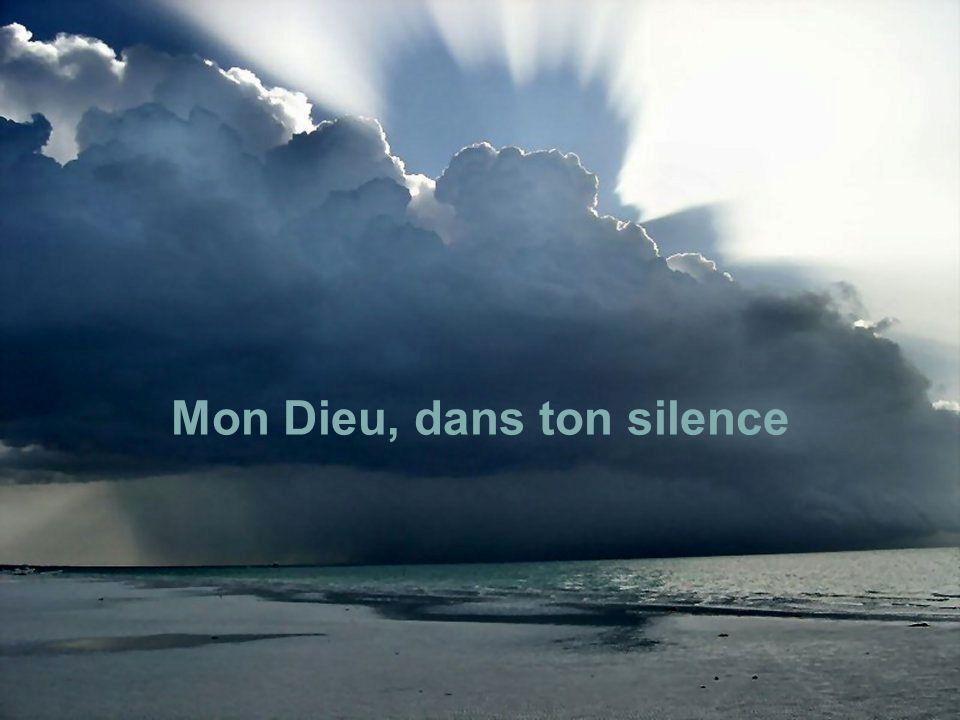 Mon Dieu, dans ton silence