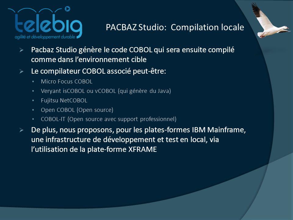 PACBAZ Studio: Compilation locale