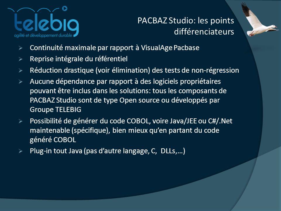 PACBAZ Studio: les points différenciateurs