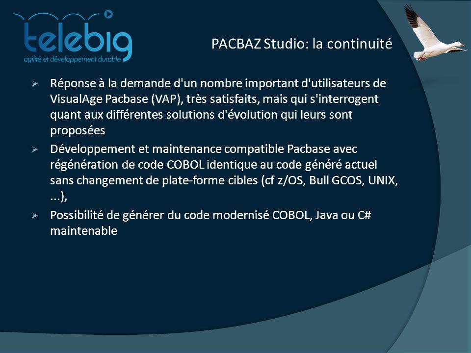 PACBAZ Studio: la continuité