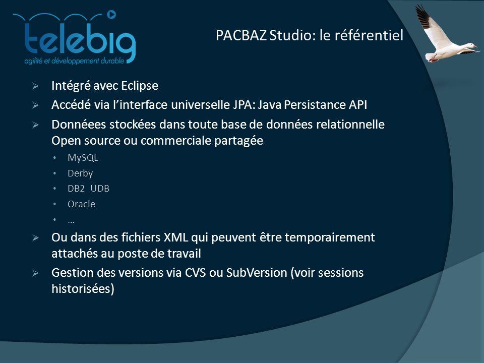 PACBAZ Studio: le référentiel