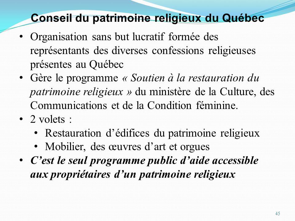 Conseil du patrimoine religieux du Québec