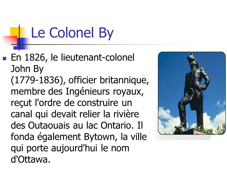 Le Colonel By