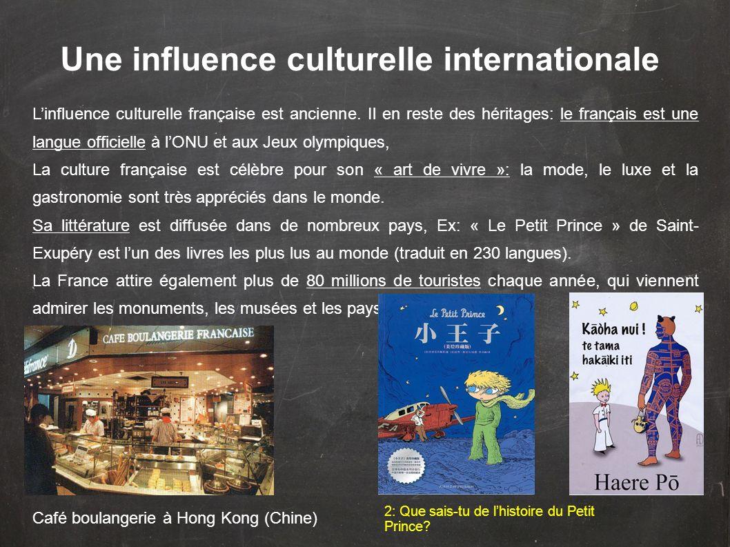 Une influence culturelle internationale
