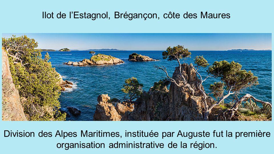 Ilot de l'Estagnol, Brégançon, côte des Maures