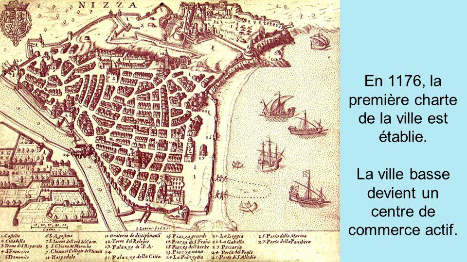 En 1176, la première charte de la ville est établie.