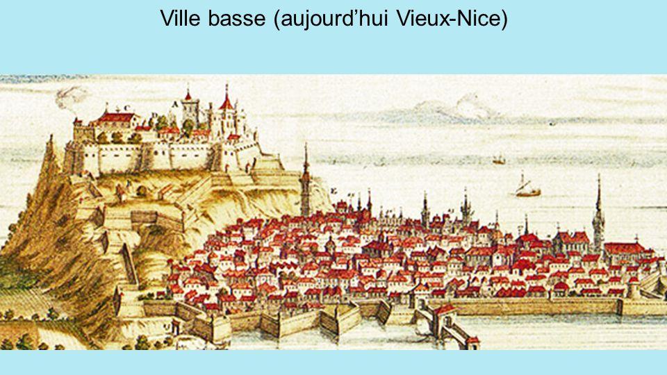 Ville basse (aujourd'hui Vieux-Nice)