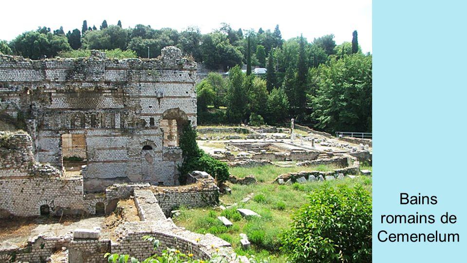 Bains romains de Cemenelum