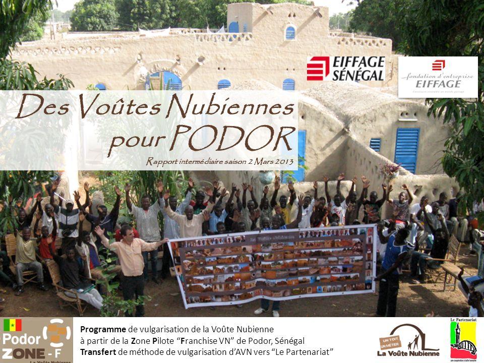 Des Voûtes Nubiennes pour PODOR