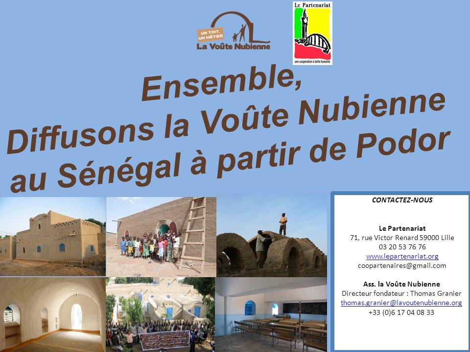 Diffusons la Voûte Nubienne au Sénégal à partir de Podor