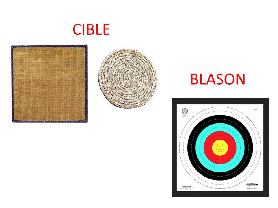 CIBLE BLASON