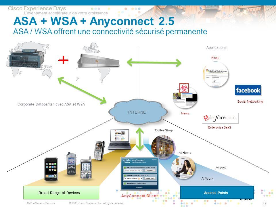 Corporate Datacenter avec ASA et WSA