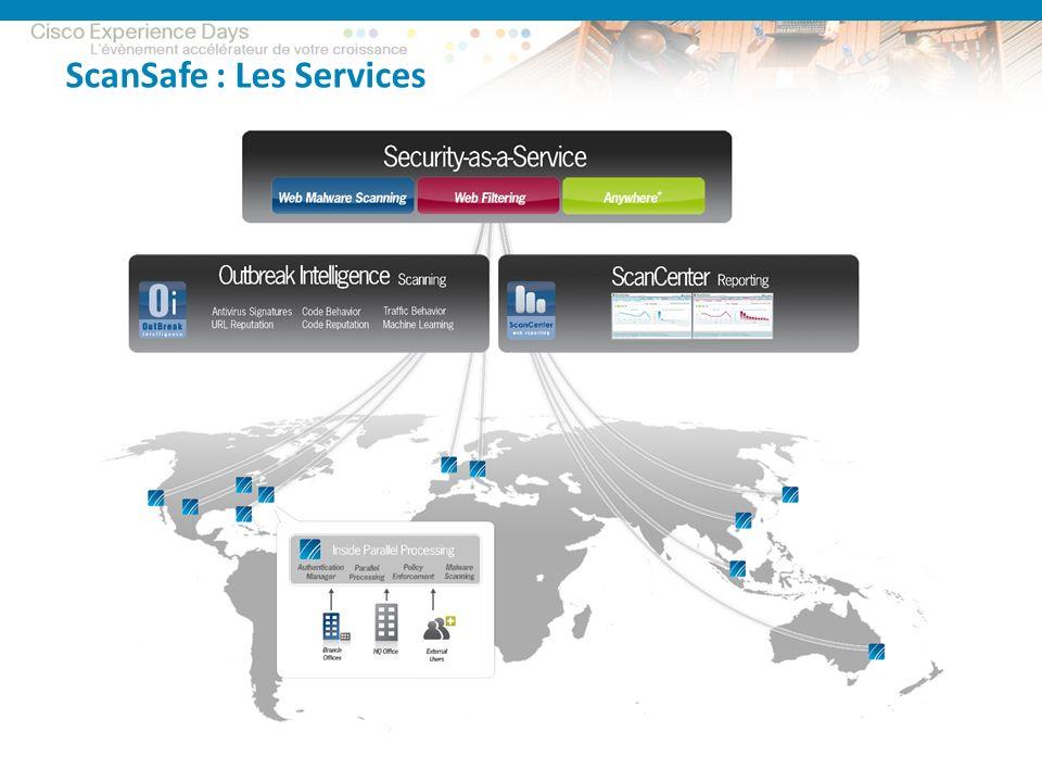 ScanSafe : Les Services