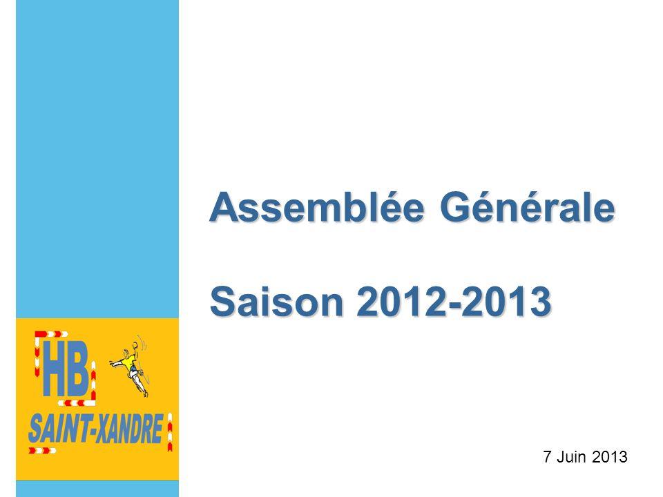 Assemblée Générale Saison 2012-2013