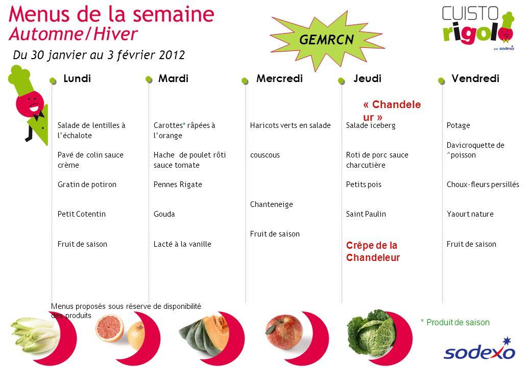 Du 30 janvier au 3 février 2012 « Chandeleur » Crêpe de la Chandeleur