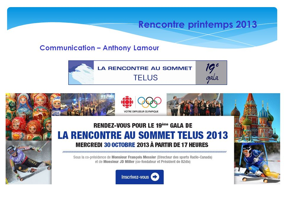 Rencontre printemps 2013 Communication – Anthony Lamour