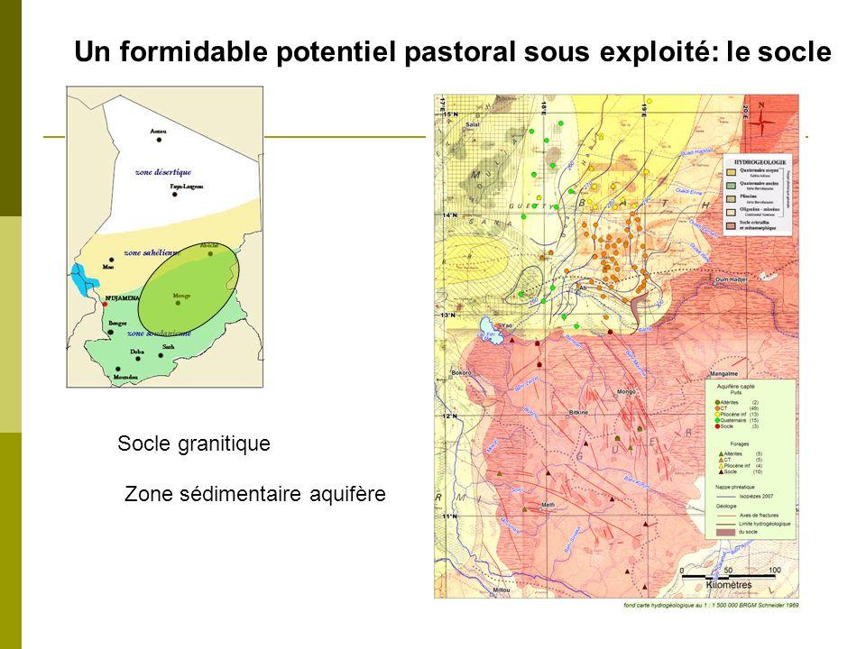 Un formidable potentiel pastoral sous exploité: le socle