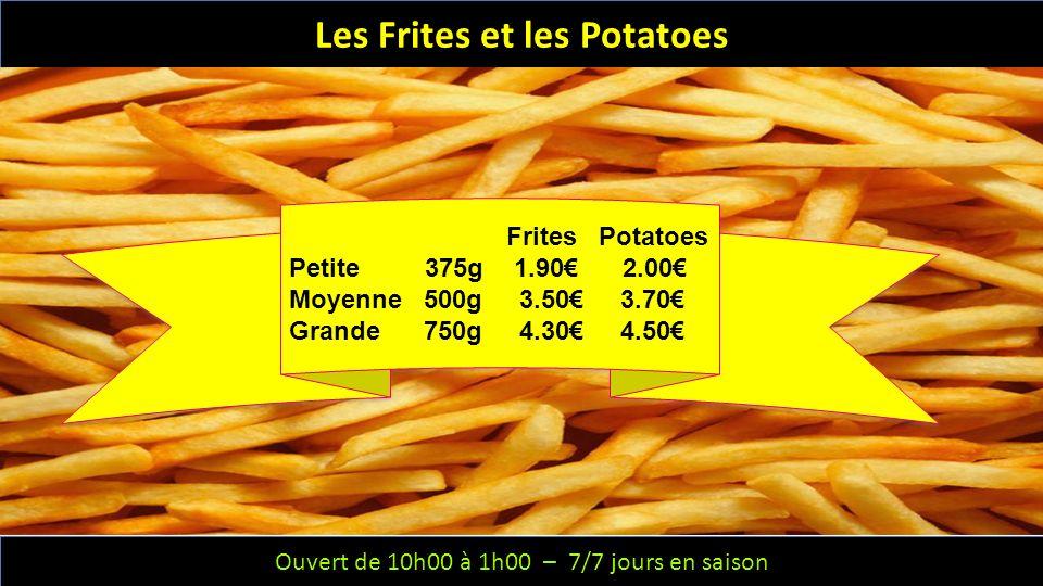 Les Frites et les Potatoes