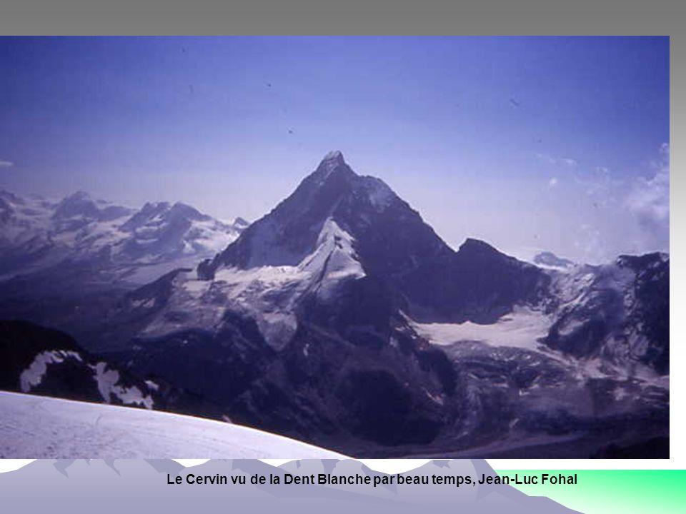 Le Cervin vu de la Dent Blanche par beau temps, Jean-Luc Fohal