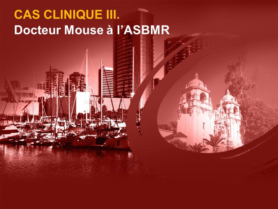 Docteur Mouse à l'ASBMR