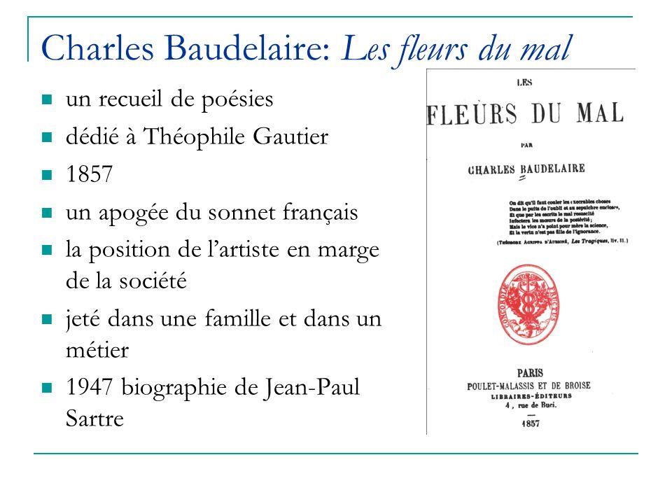 Charles Baudelaire ( ) Chez Baudelaire, le poète devient l ...