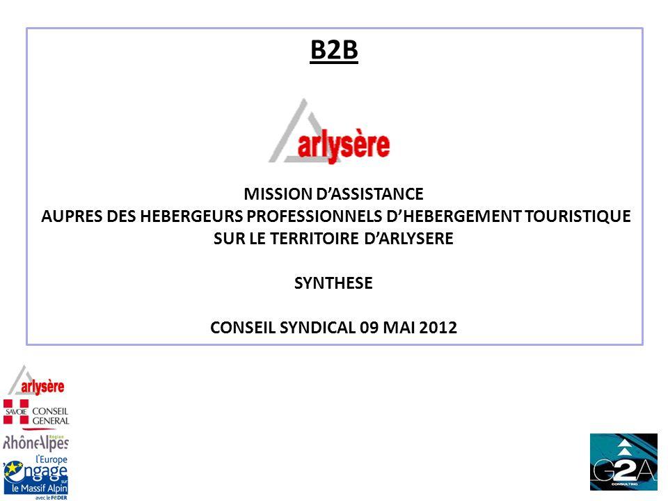 B2B MISSION D'ASSISTANCE