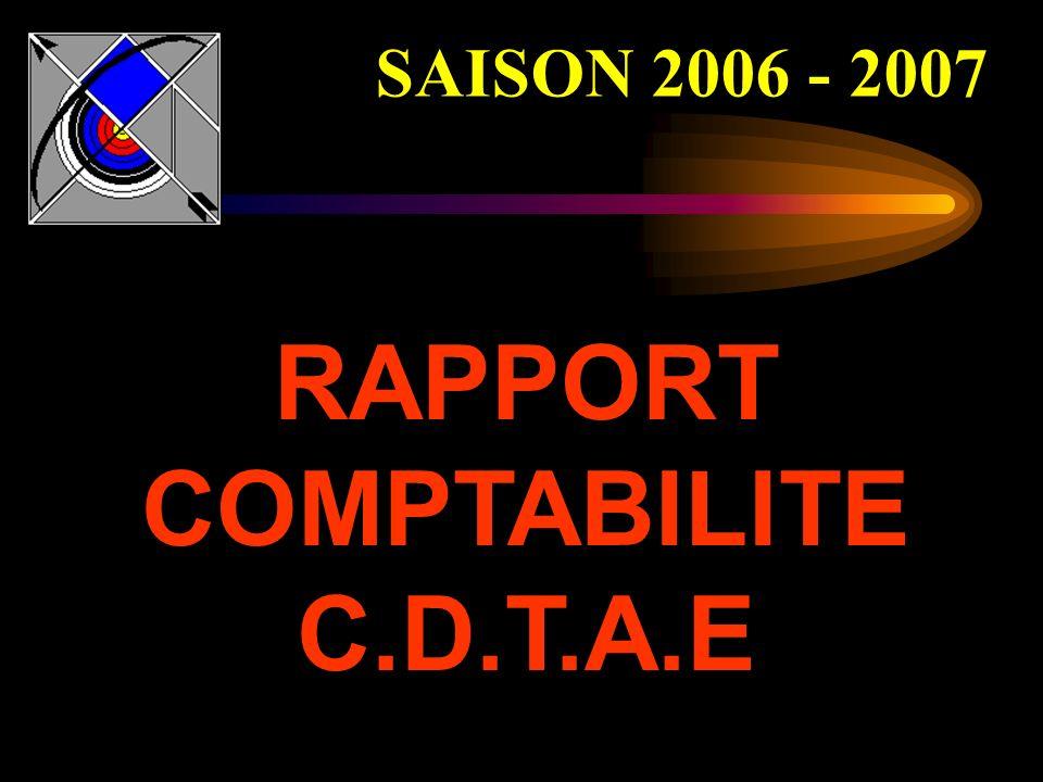 RAPPORT COMPTABILITE C.D.T.A.E