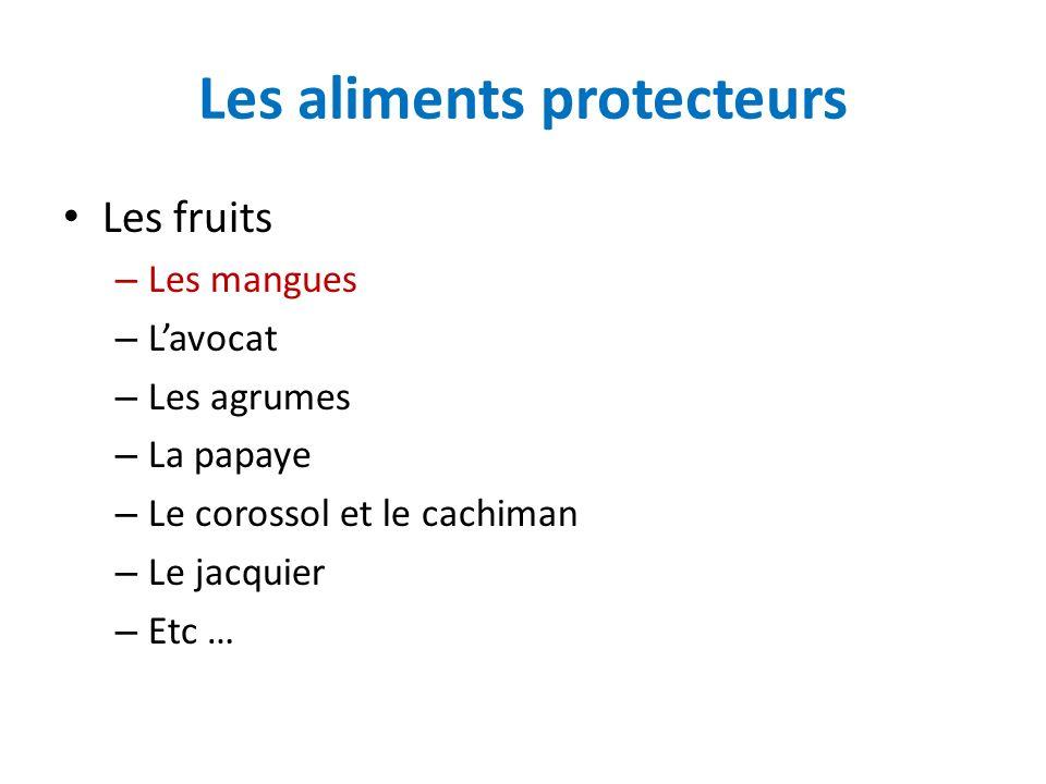 Les aliments protecteurs