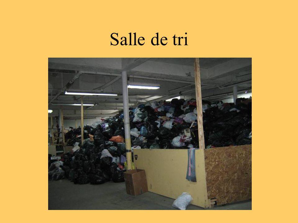 Salle de tri