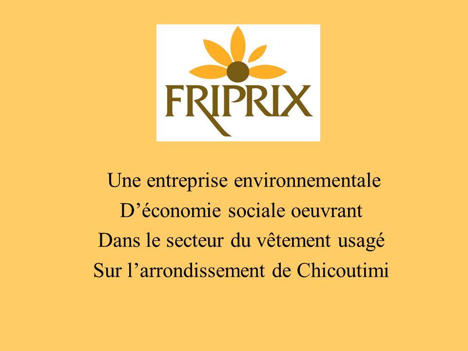 Une entreprise environnementale D'économie sociale oeuvrant