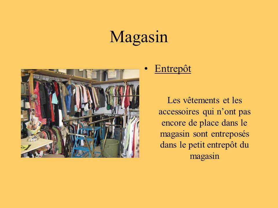 Magasin Entrepôt.