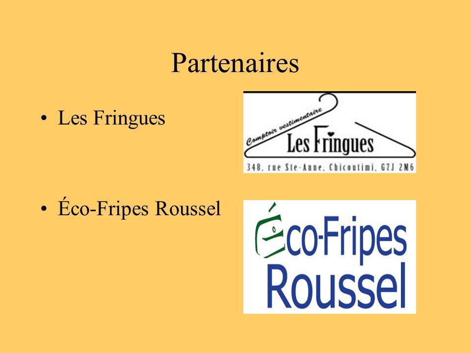 Partenaires Les Fringues Éco-Fripes Roussel
