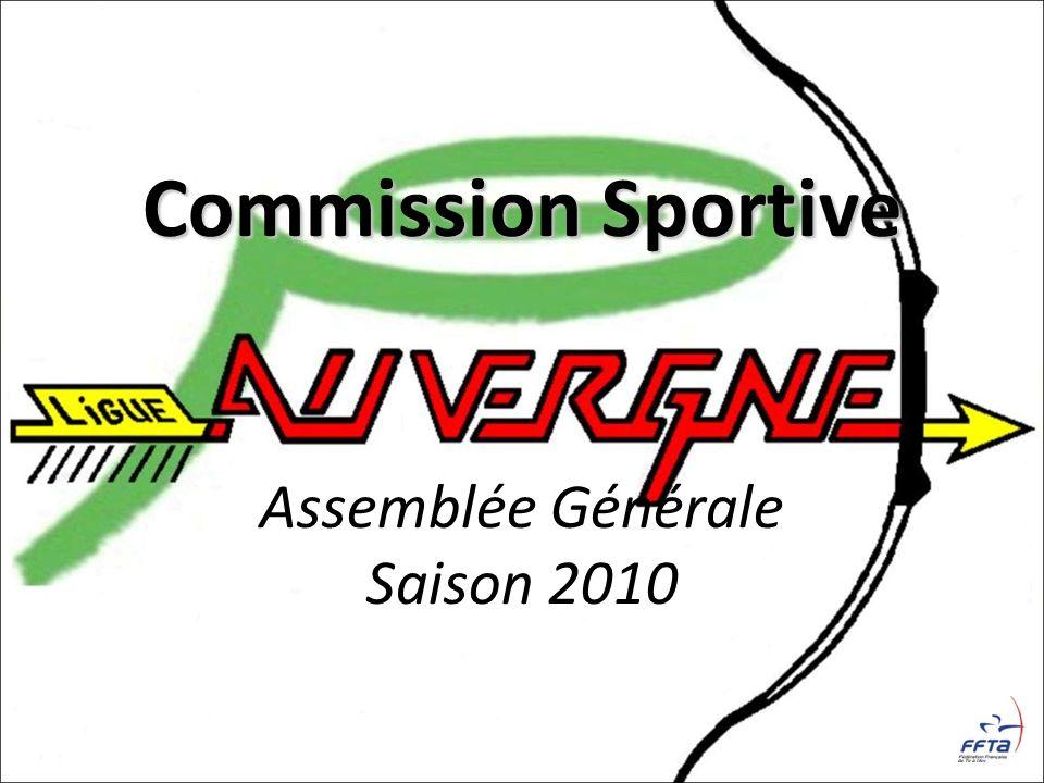 Commission Sportive Assemblée Générale Saison 2010