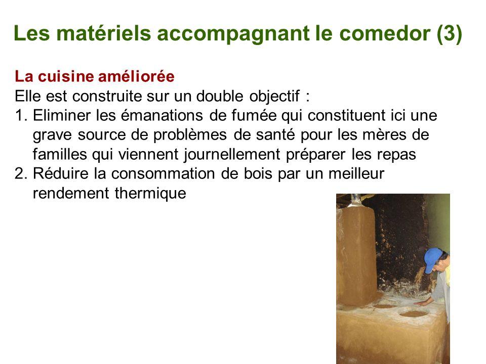 Les matériels accompagnant le comedor (3)