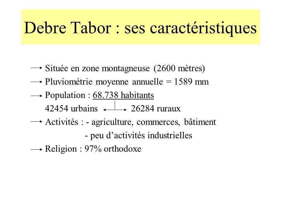 Debre Tabor : ses caractéristiques