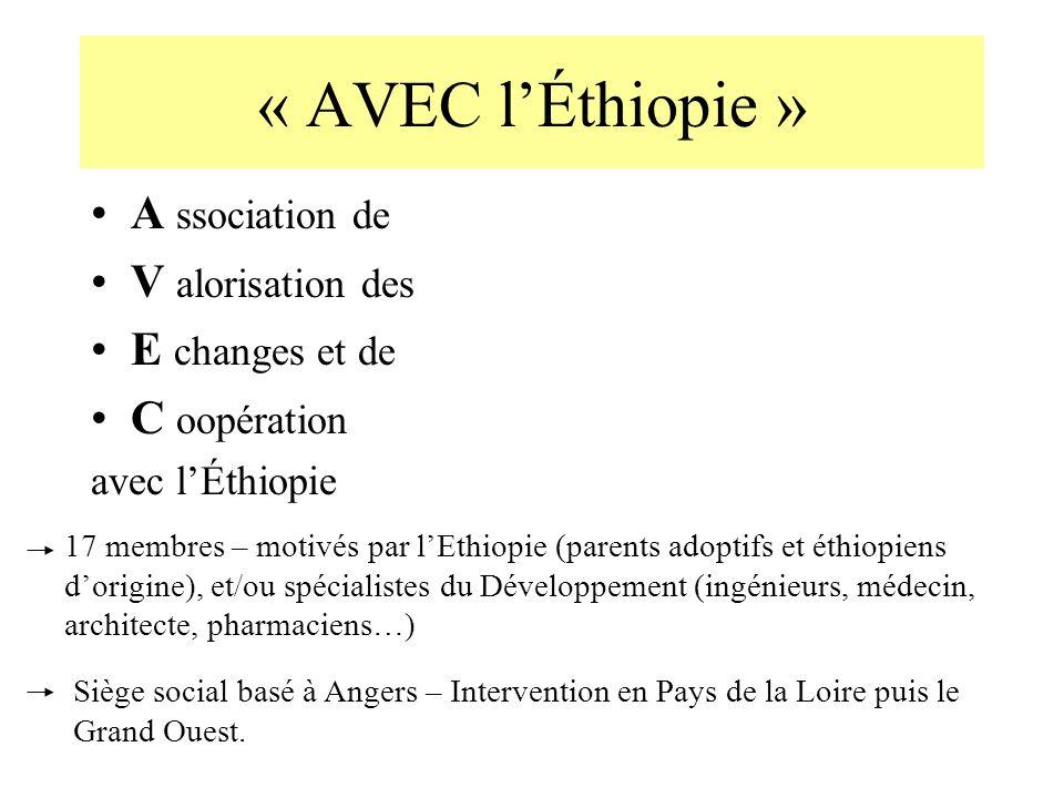 « AVEC l'Éthiopie » A ssociation de V alorisation des E changes et de