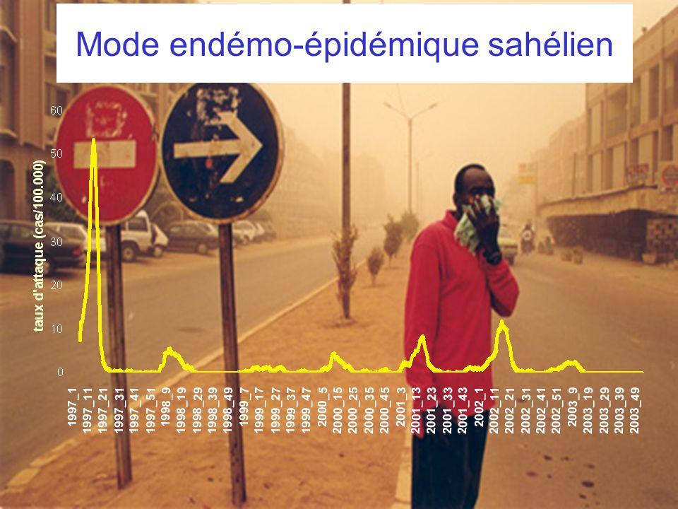 Mode endémo-épidémique sahélien
