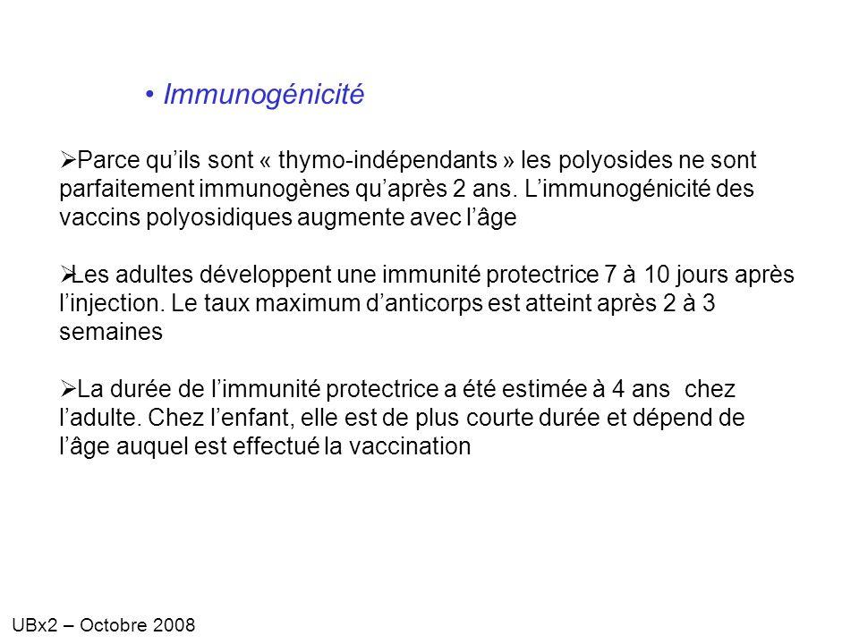 Immunogénicité
